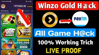 winzo gold hack mod apk download unlimited money 2021